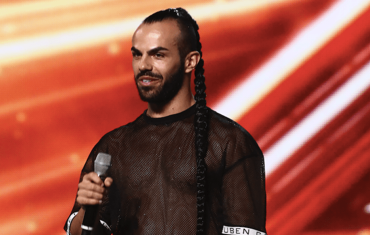 Slavko Kalezić on The X Factor 2017