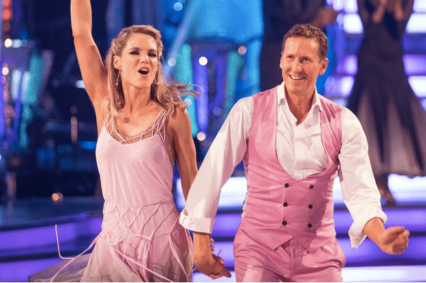 Charlotte Hawkins on Strictly Come Dancing