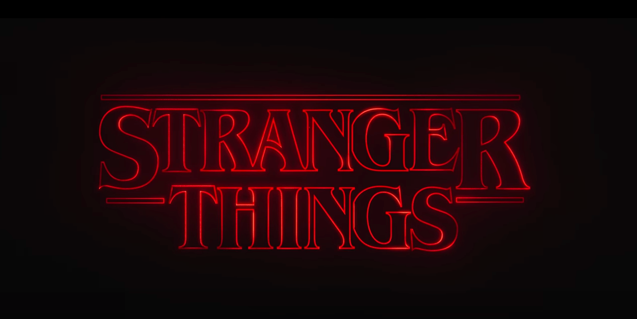 Stranger Things opening titles