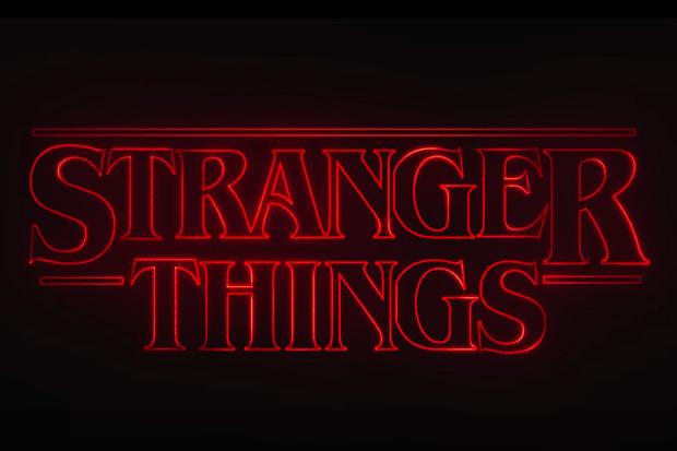 Stranger Things opening titles