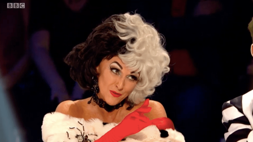 Shirley Ballas in Halloween Week