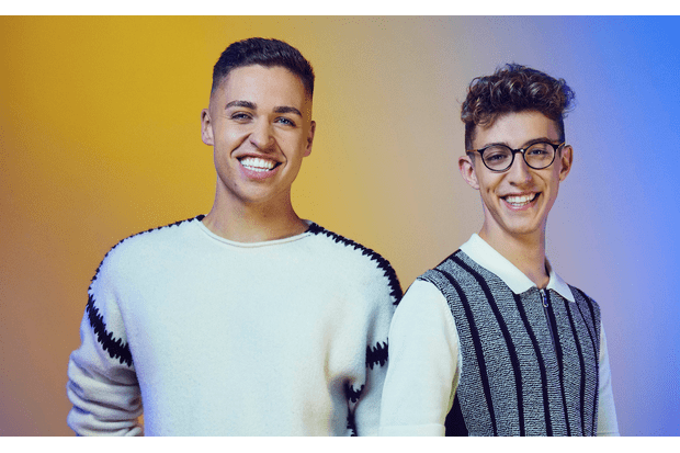 Jack and Joel on The X Factor 2017
