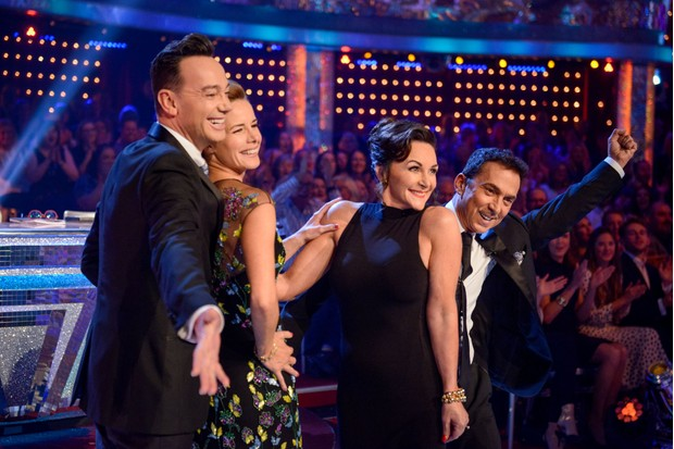 Strictly judges 2017