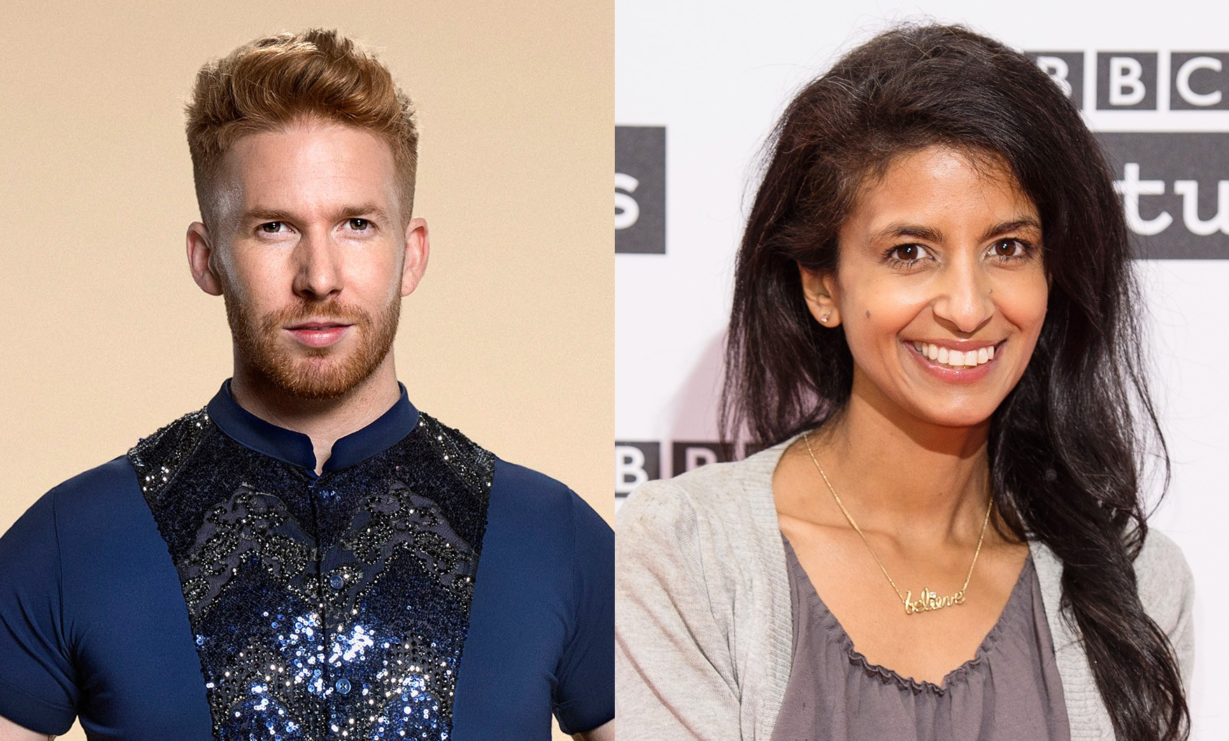 Neil Jones and Konnie Huq Strictly 2017