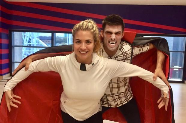 Gemma Atkinson and Aljaz Skorjanec on Strictly Come Dancing 2017