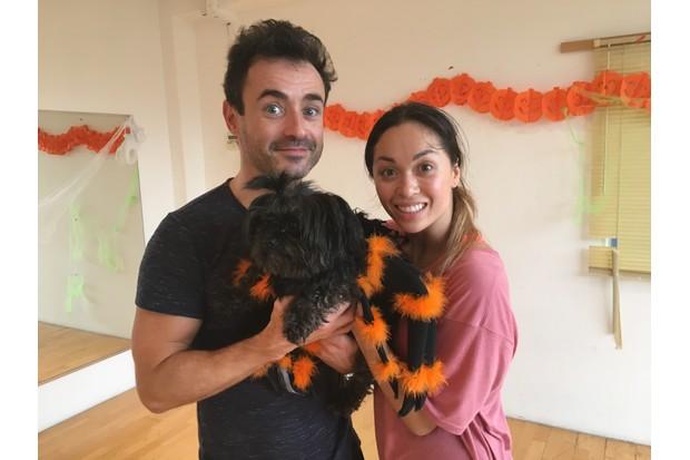 Joe McFadden and Katya Jones on Strictly Come Dancing 2017