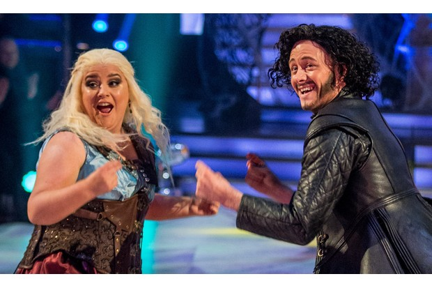 Susan Calman and Kevin Clifton on Strictly Come Dancing 2017