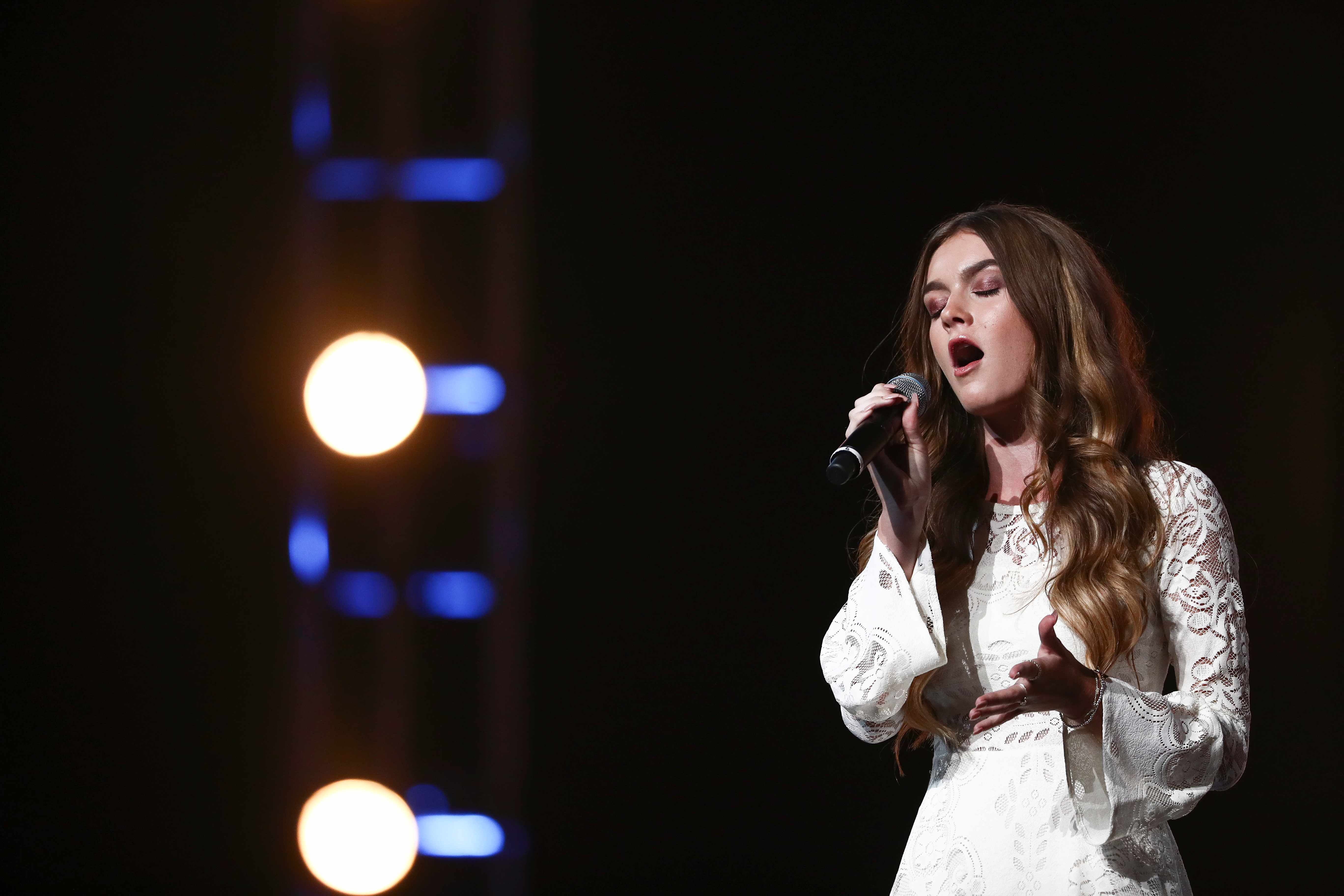 Holly Tandy X Factor 2017 (ITV Pictures, JG)