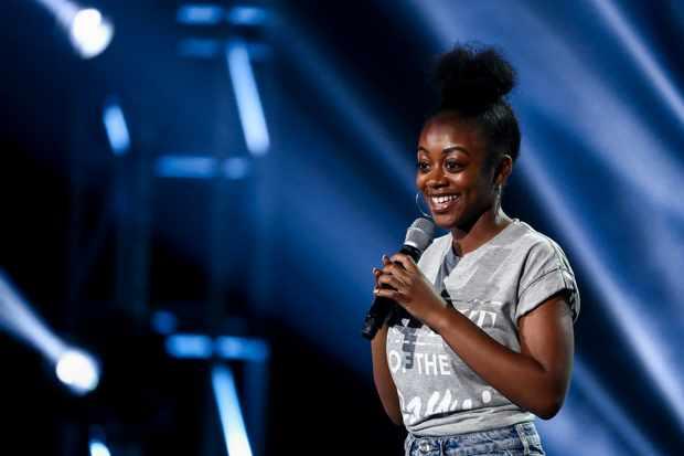 Rai-Elle Williams X Factor 2017 (ITV Pictures, JG)