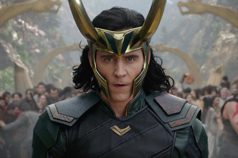 Tom Hiddleston as Loki in Thor: Ragnarok (Marvel, HF)