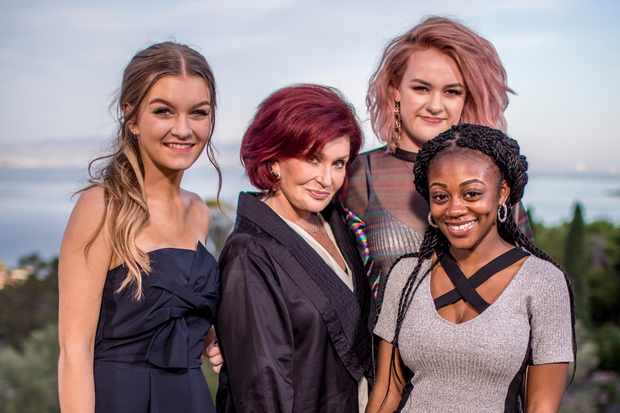 The X Factor: Sharon Osbourne and the girls