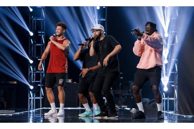 The X Factor group Rak-Su
