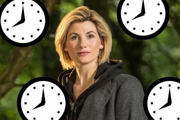 Jodie Whittaker as the Thirteenth Doctor (BBC, HF)