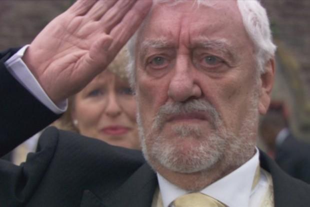Bernard Cribbins as Wilfred Mott in Doctor Who (BBC, HF)