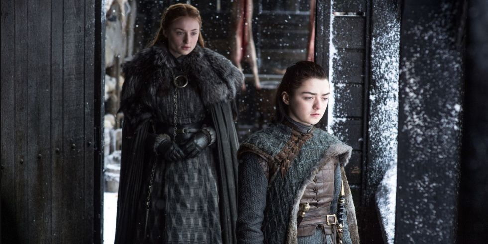 Arya and Sansa Stark (Game of Thrones)