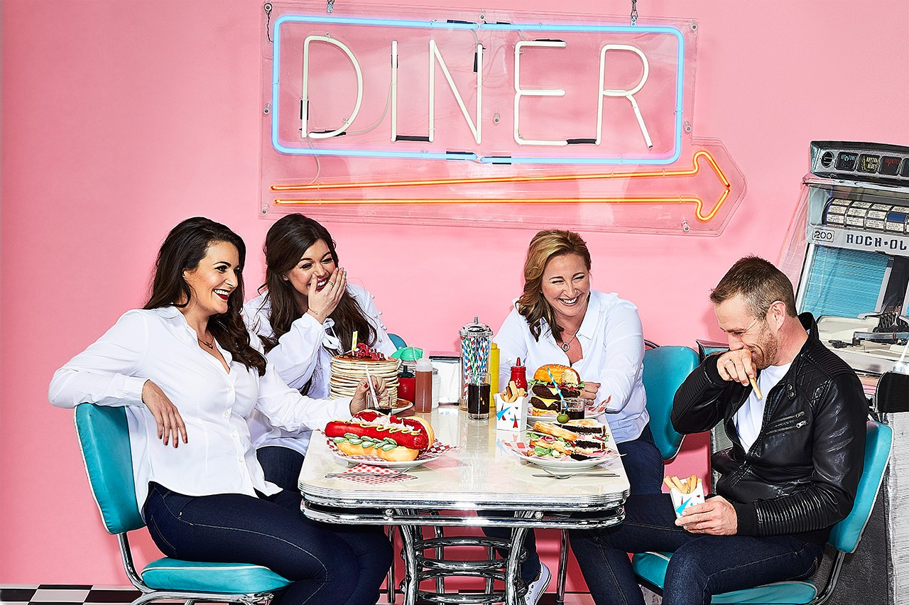 The four Bake Off 2017 semi-finalists, photographed exclusively for Radio Times by Richard Grassie