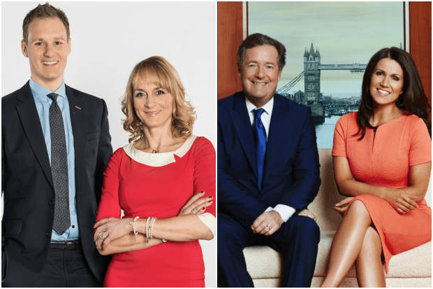 UK Breakfast TV Hosts