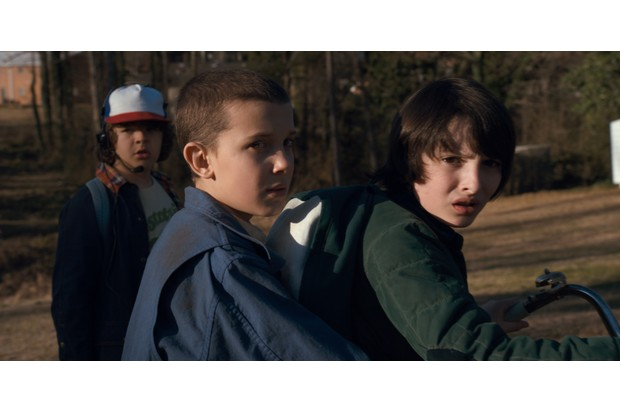 Eleven and Mike in Stranger Things (Netflix, JG)