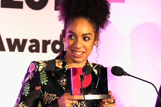 Pearl Mackie at the 2017 Pink Awards (Getty)