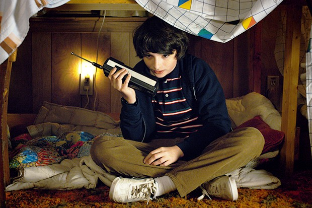 Finn Wolfhard in Stranger Things 2 (Netflix, HF)