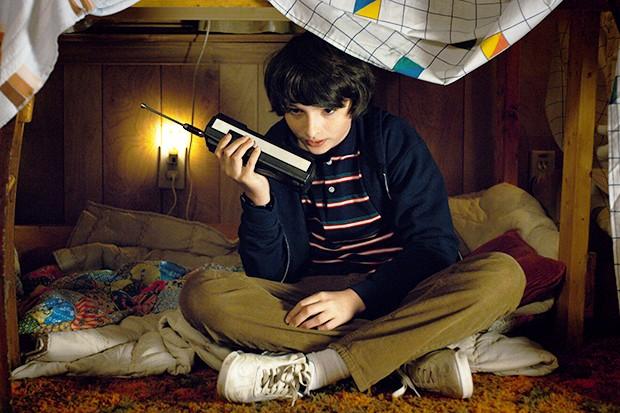 Finn Wolfhard in Stranger Things 2 (Netflix, HF)