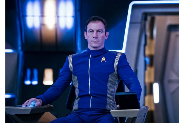 Pictured: Jason Isaacs as Captain Gabriel Lorca (Netflix, TL)