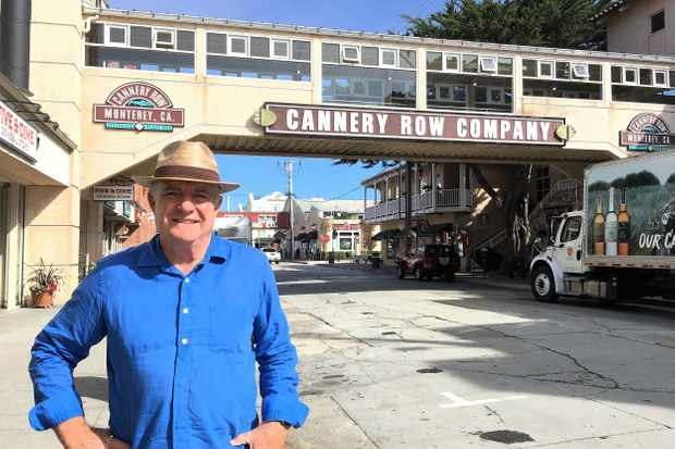 Rick Stein stops off in Monterey, California in Rick Stein's Road to Mexico on BBC2