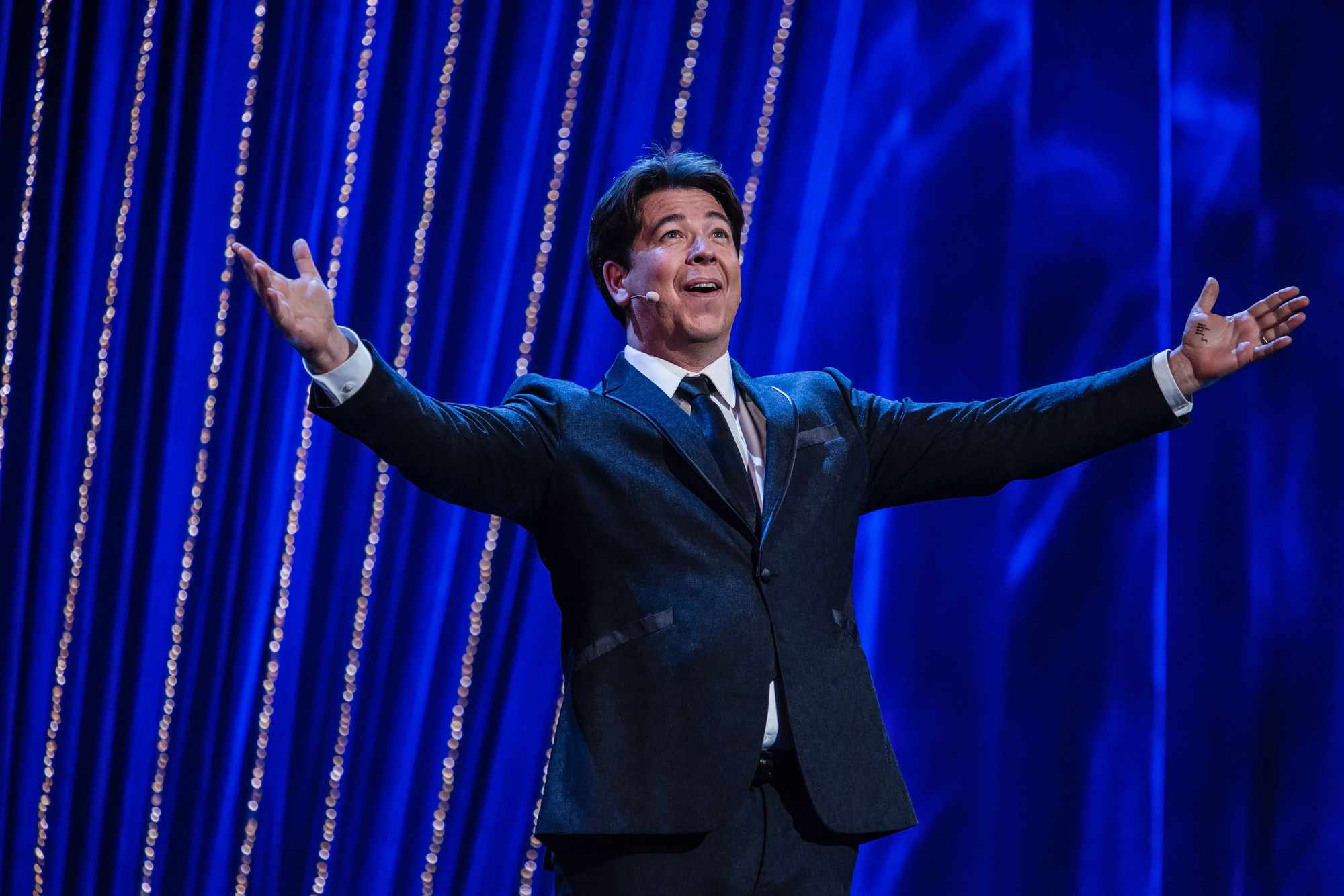 Programme Name: Michael McIntyre's Big Show S3 - TX: n/a - Episode: n/a (No. n/a) - Picture Shows:  Michael McIntyre - (C) Hungry McBear  - Photographer: Gary Moyes