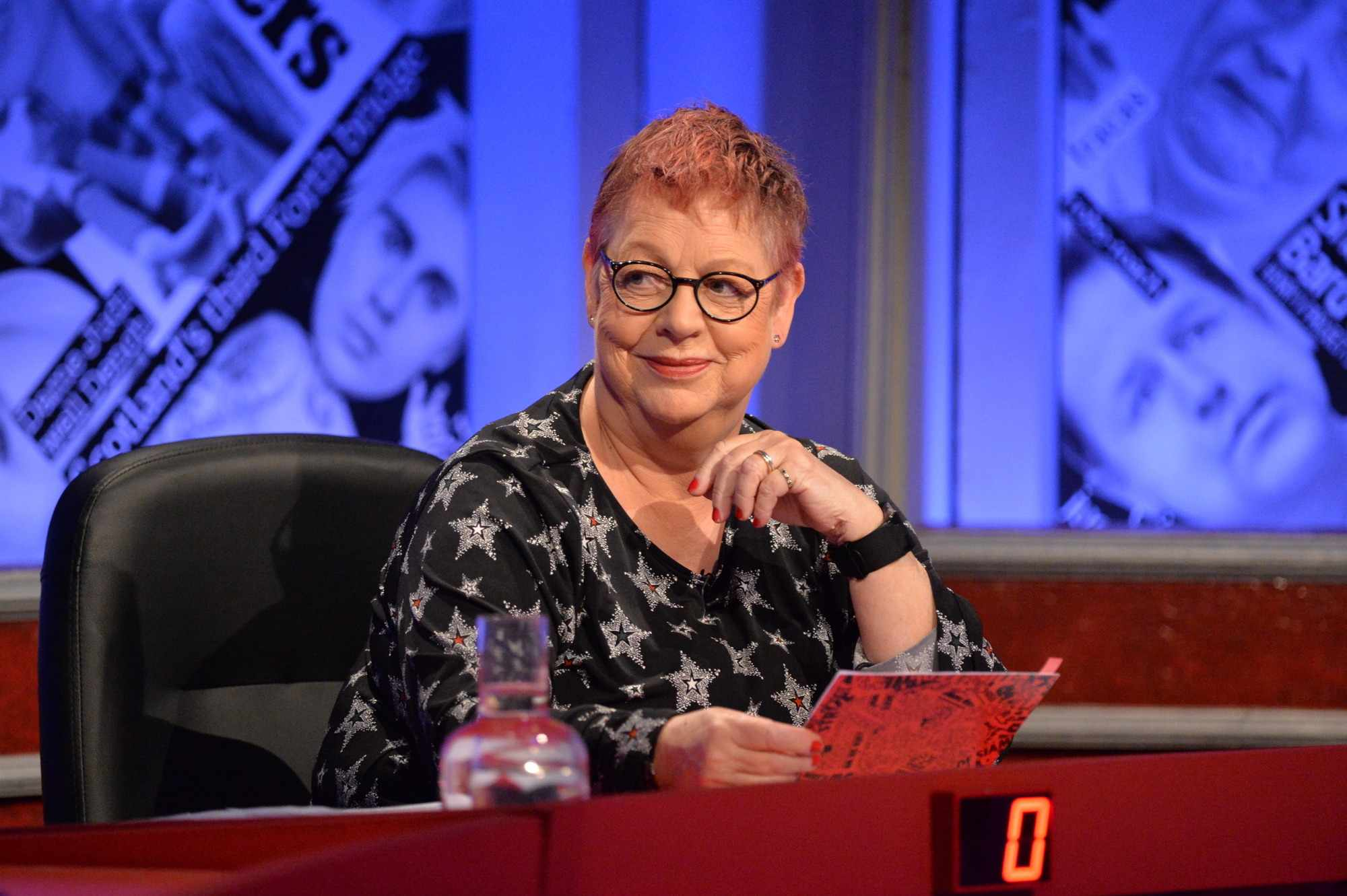 Have I Got News For You host Jo Brand  (Hat Trick - Photographer: Richard Kendal)