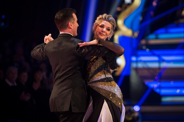 Ruth Langsford Strictly (BBC, EH)