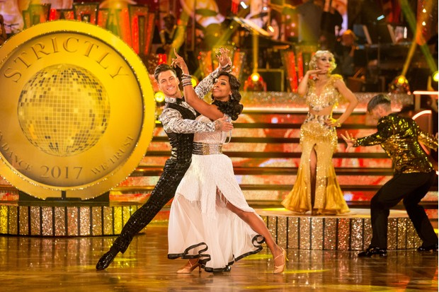 Alexandra Burke in Strictly Come Dancing