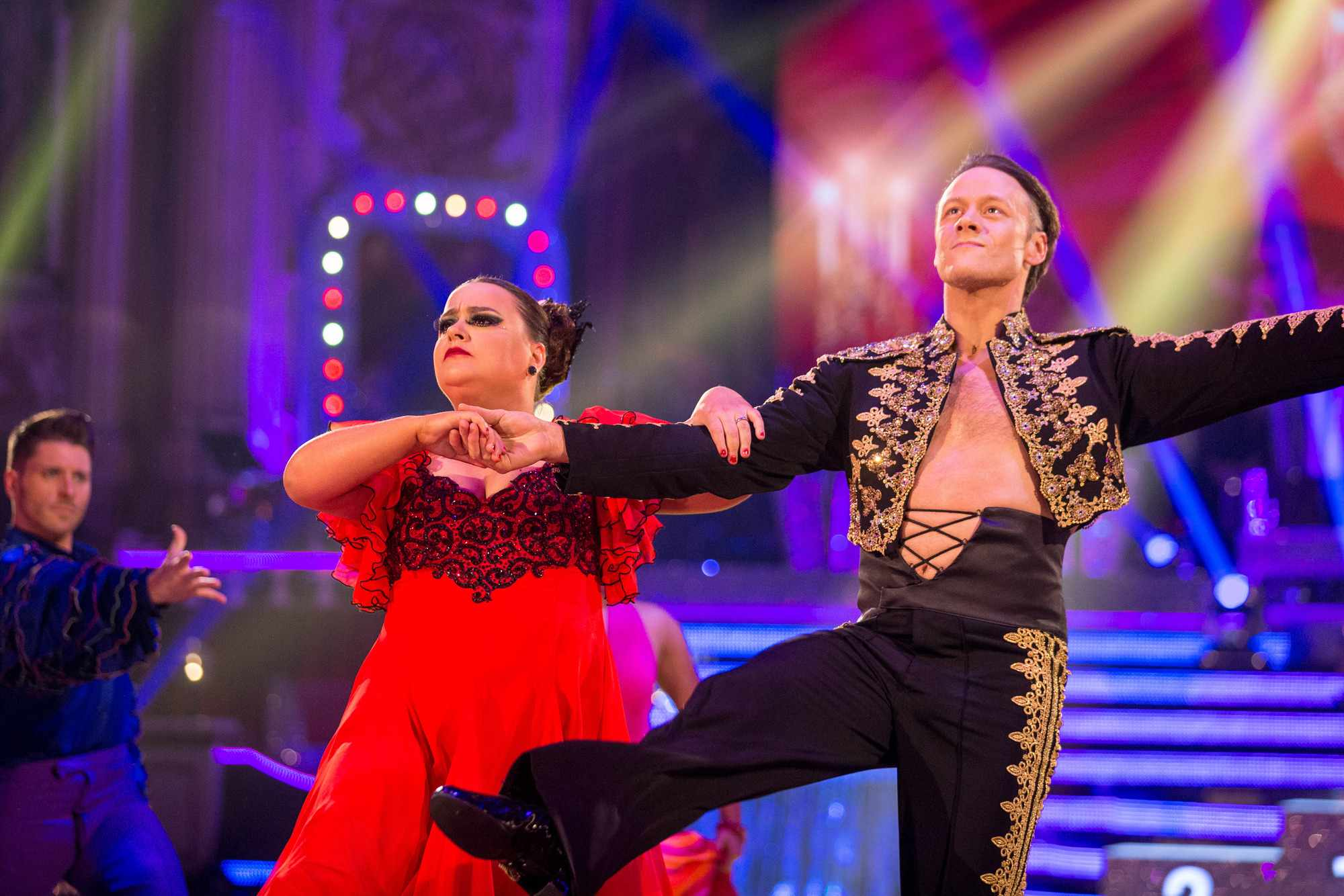 Susan Calman and Kevin Clifton Strictly Blackpool Week