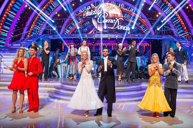 The contestants from Strictly Come Dancing 2017