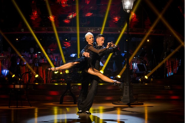 Debbie McGee and Giovanni Pernice on Strictly Come Dancing 2017