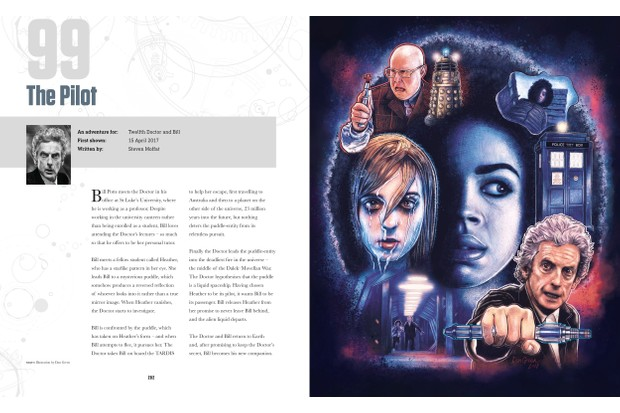 Doctor Who fan art 100 Illustrated Adventures