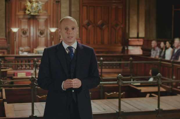 Judge Rinder in Crown Court on ITV