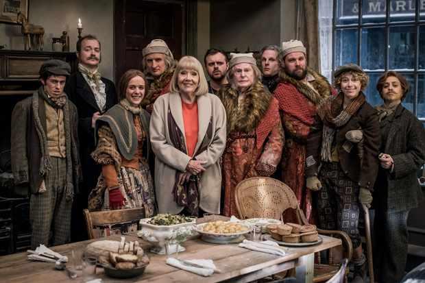 A Christmas Carol Cast.Diana Rigg And Derek Jacobi To Star In A Christmas Carol
