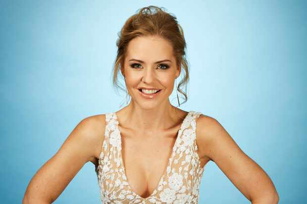Stephanie Waring in Dancing on Ice 2018
