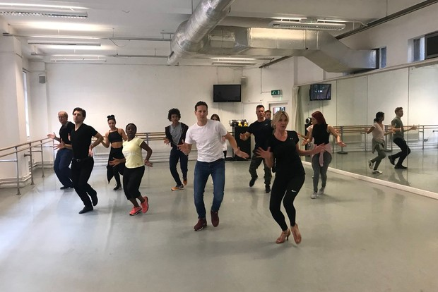 Strictly Come Dancing Children in Need rehearsals 2018