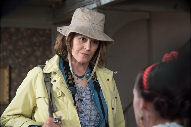 Sigourney Weaver as Beth Traywick in Doc Martin (ITV, TL)