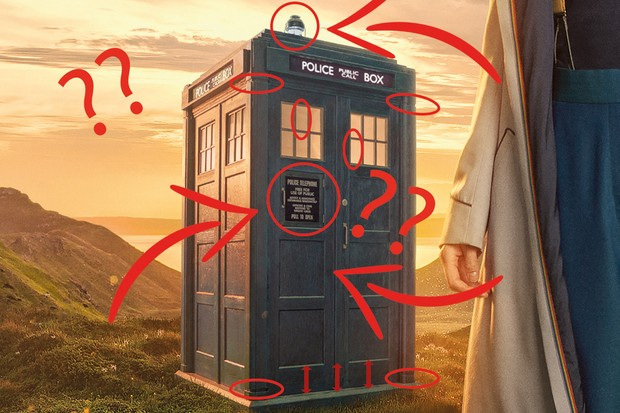 doctor who jodie whittaker s new tardis looks very different but