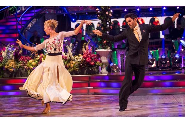 Davood Ghadami and Nadiya Bychkova on Strictly Come Dancing 2017