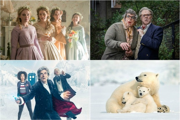 Doctor Who, Little Women, League of Gentlemen and Snow Bears