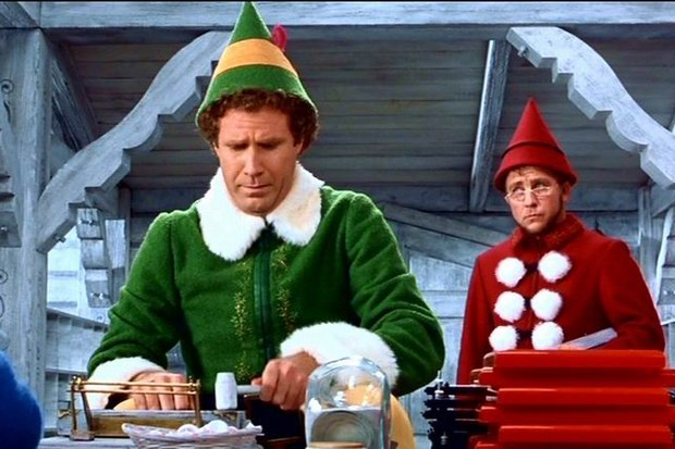 elf will ferrell ba - British Christmas Movie