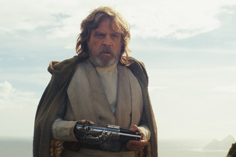 Mark Hamill in Star Wars: The Last Jedi (Disney, LucasFilm)