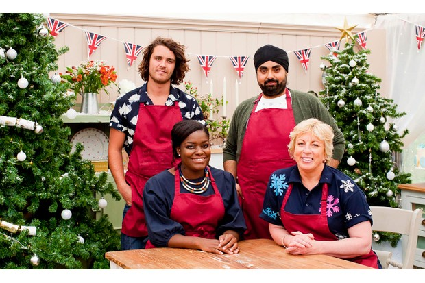 The Great British Bake Off Christmas special 2017