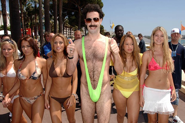 764bc8aa44798 Sacha Baron Cohen offers to pay back tourists fined for wearing Borat  mankinis. Some Czech tourists fell foul of the law when visiting  Kazakhstan. Borat