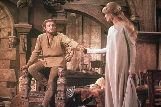 Richard Harris and Vanessa Redgrave in Camelot