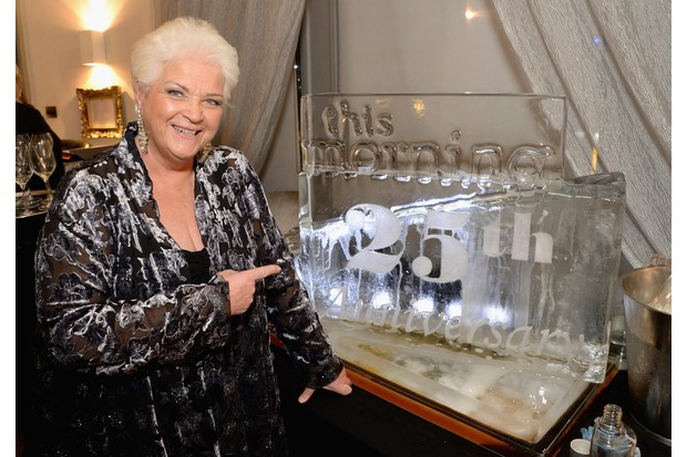 LONDON, ENGLAND - NOVEMBER 18: Pam St Clement attends the This Morning 25th Anniversary at Home House on November 18, 2013 in London, England. (Photo by Dave J Hogan/Getty Images, BA)