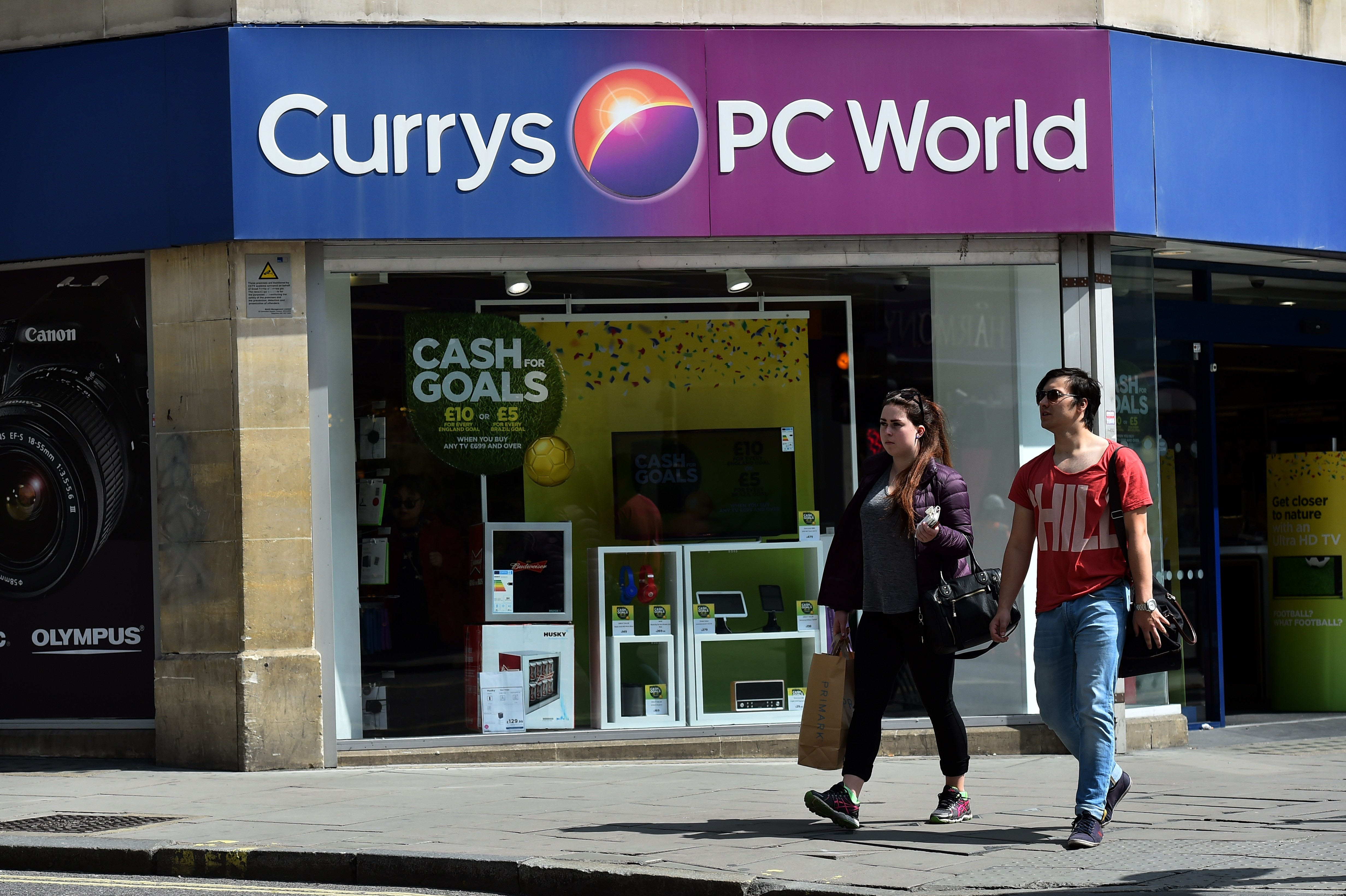 Currys PC World Black Friday. Getty Images, TG